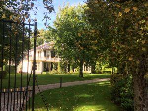 Het landhuis Rhijngeest aan de Endegeesterstraatweg
